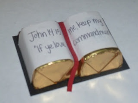 Scripture Candy Bar Favors