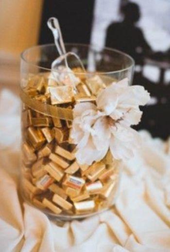 Mini Chocolate Bar Wedding Favors