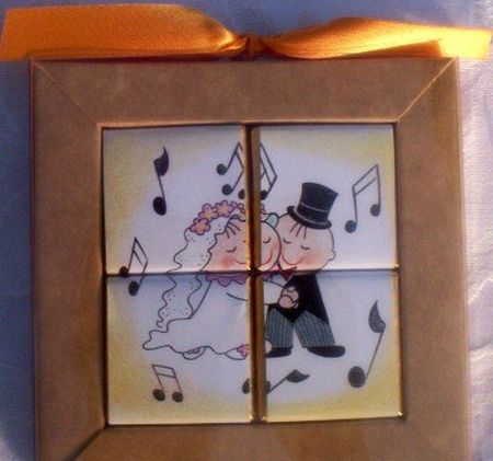 First Dance Chocolate Puzzle Wedding Favor
