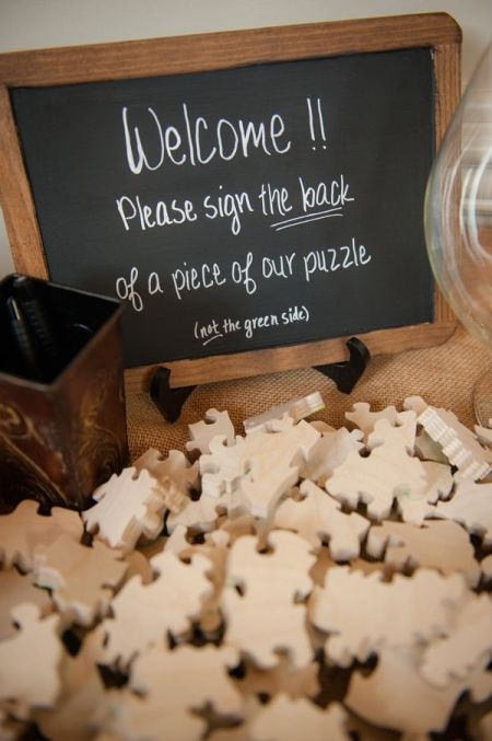 Puzzle Guestbook