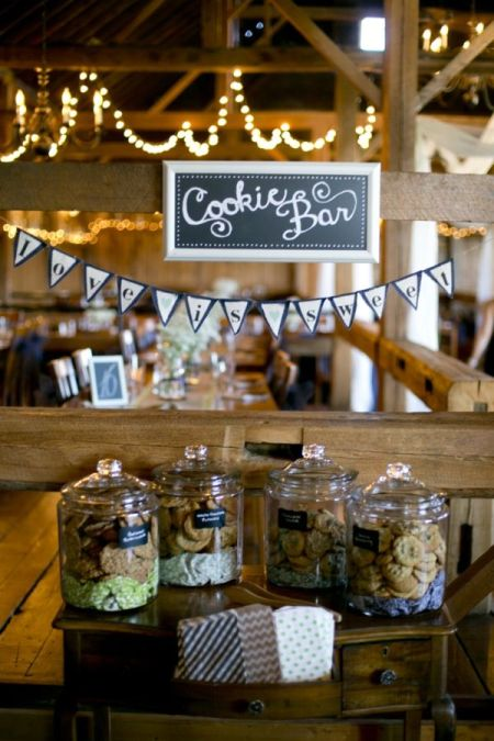 Sweet Cookie Bar Wedding Favor Idea