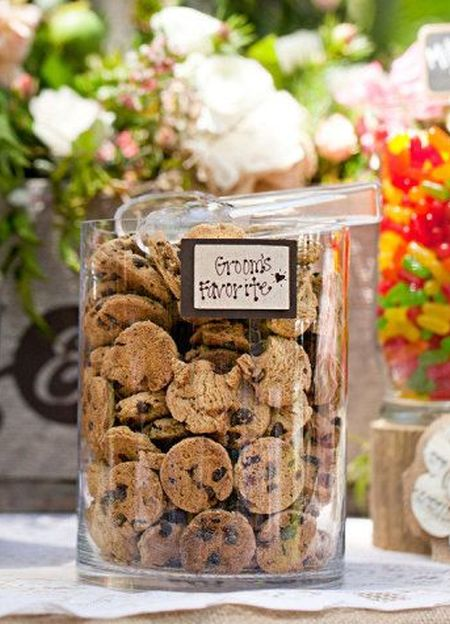 Groom Favorite Cookie Bar Wedding Favors