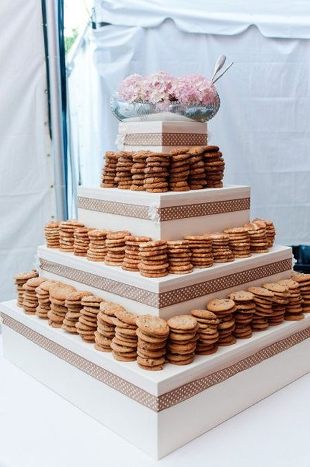Cookie Bar Wedding Favor Presentation