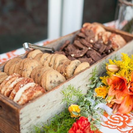 Rustic Cookie Bar Wedding Favors