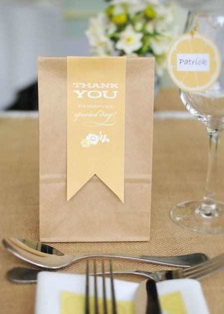 Cookie Cutter Wedding Favor Thank You
