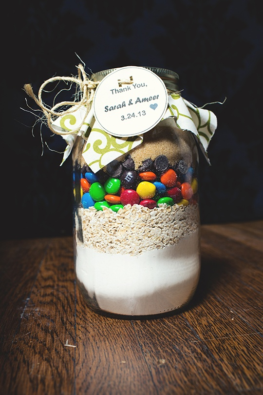 Cookie Jar Mix Wedding Favor Idea