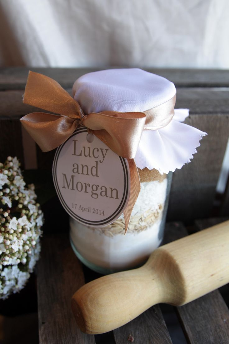 Cookie Jar Mix Wedding Favor