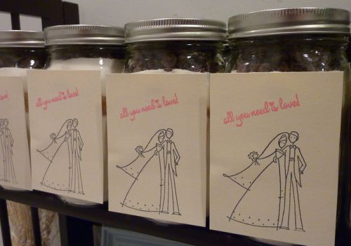 Wedding Favor Cookie Jar Mix