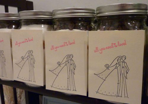 Wedding Favor Cookie Jar Mix