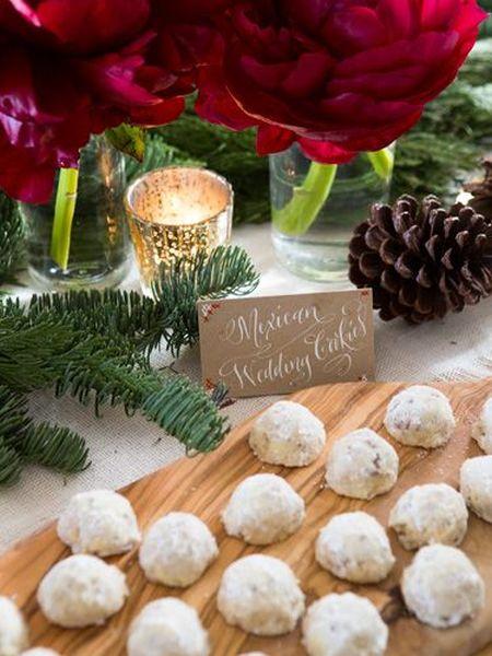 Danish Wedding Cookie Presentation