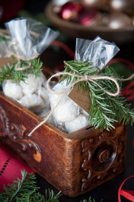 Twig and Twine Danish Wedding Cookies