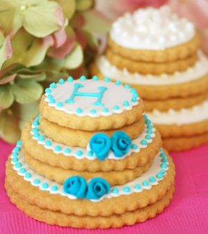 Decorated Wedding Cookies