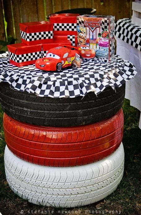 Disney Cars Birthday Party Accents Photo