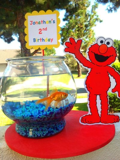 Elmo Birthday Party Ideas With Dorothy