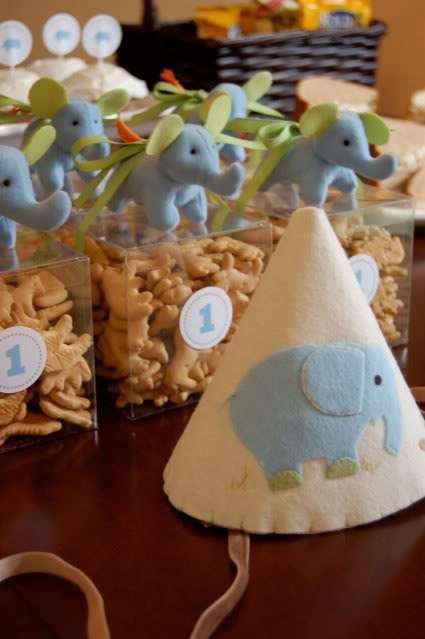 First Boy Birthday Cookie Party Favor