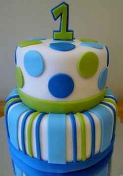 1st Boy Birthday Cake Idea