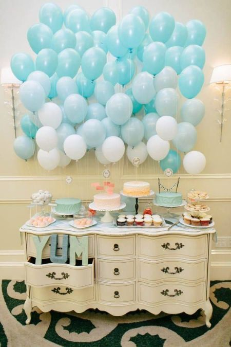 First Boy Birthday Vintage Display
