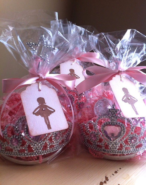 First Girl Birthday Princess Favors