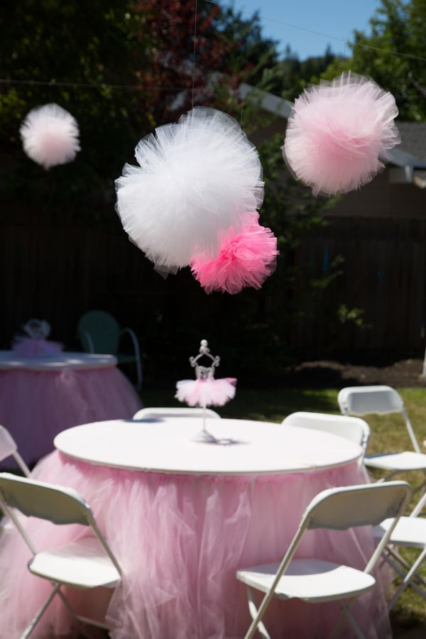 First Girl Birthday Ballerina Theme