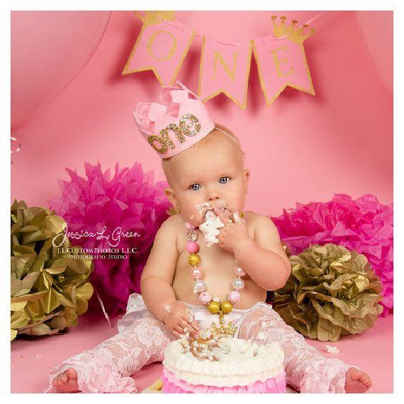 First Girl Birthday Smash Cake