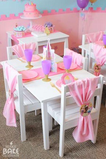 First Girl Birthday Princess Themed