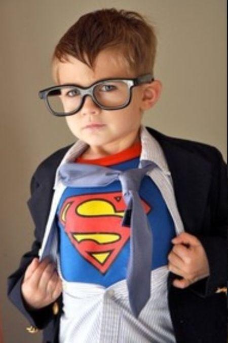 Clark Kent Kid Halloween Costumes