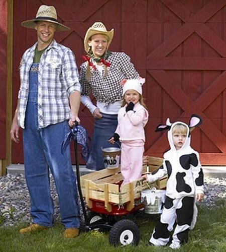 Farm Family Halloween Costume Ideas