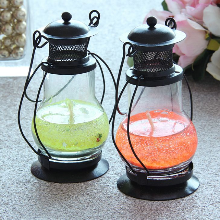 Lantern Gel Candle Wedding Favors