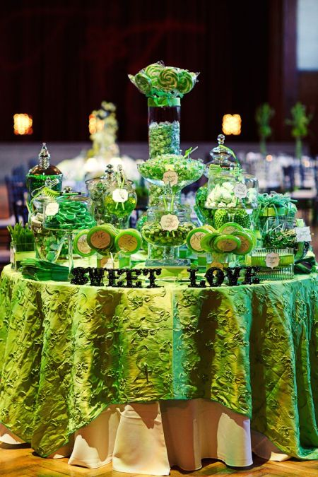 Golf Themed Candy Buffet