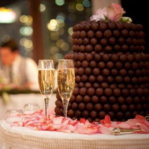 Gourmet Chocolate Candy Cake Idea
