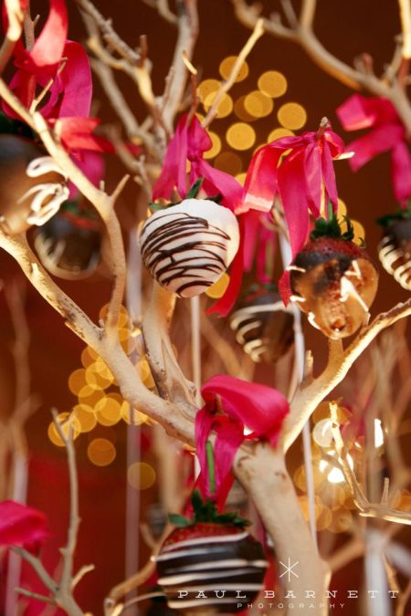 Gourmet Chocolate Strawberry Tree