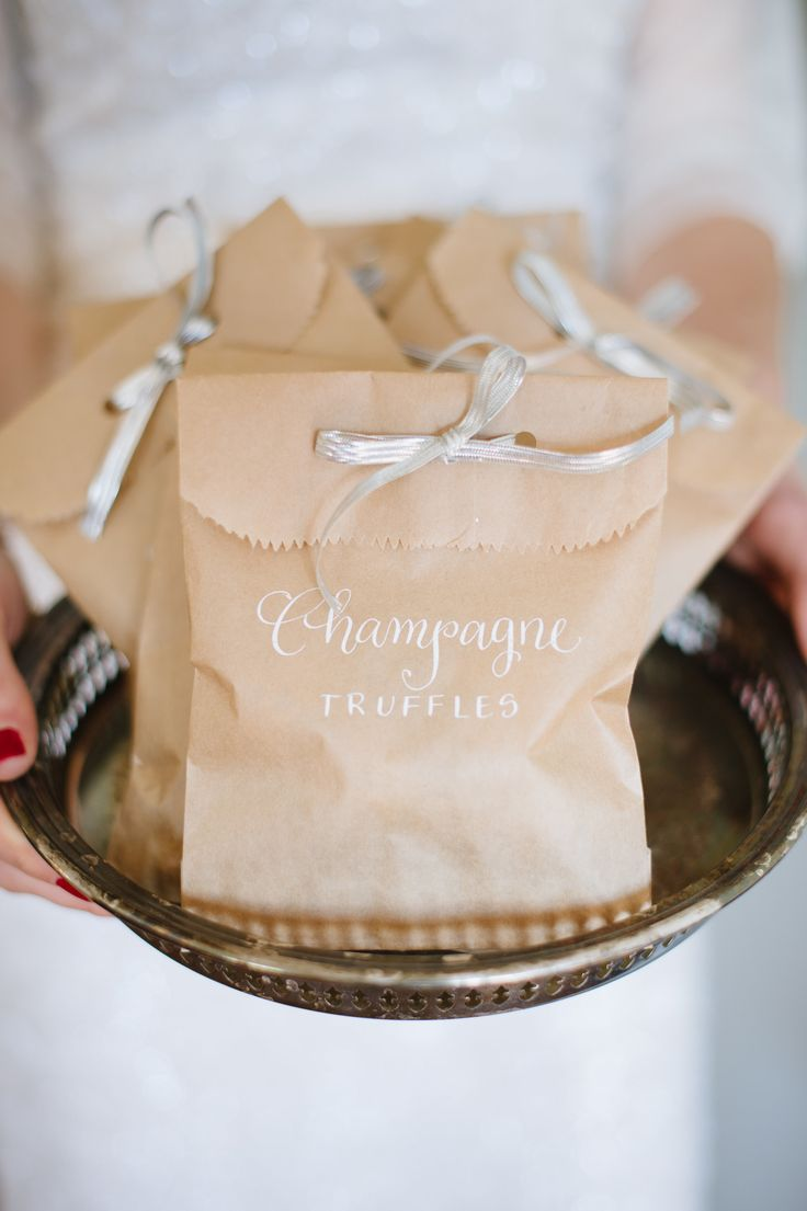 Gourmet Chocolate Wedding Favors