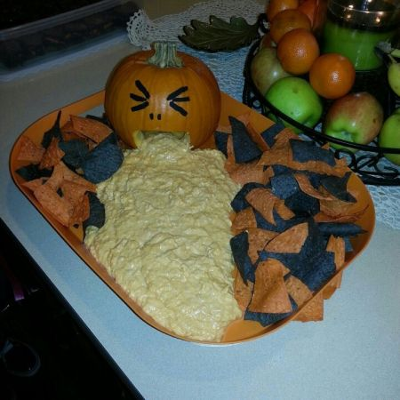 Chicken Dip Halloween Appetizers
