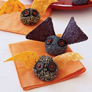 Batty Halloween Appetizers