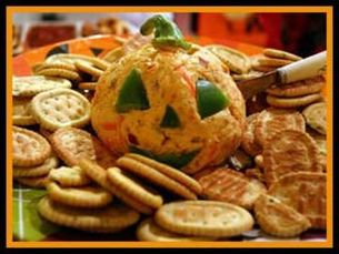 Cheeseball Halloween Appetizers