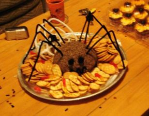 Easy Cheeseball Halloween Appetizers