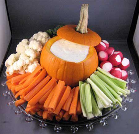 Veggie Halloween Appetizers