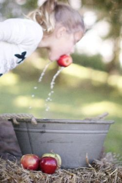 Apple Bobbing Halloween Kids Games