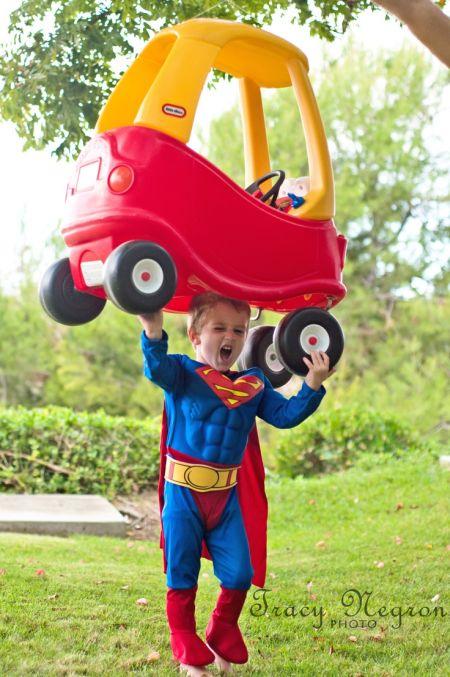 Superman Kid Halloween Costume