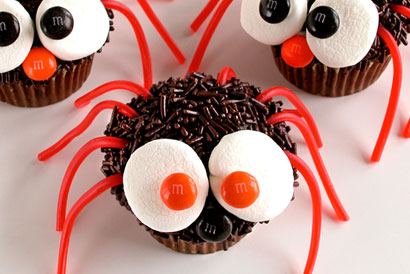 Spider Halloween Cupcake Ideas