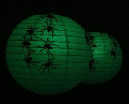 Paper Lantern Halloween Decoration Ideas