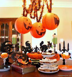 Halloween Appetizers Presentation