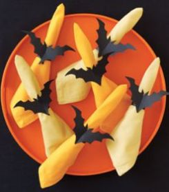 Batty Napkin Holder Decorating Idea