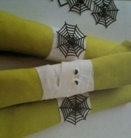 Mummified Halloween Napkin Holders