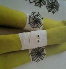 Mummified Halloween Napkin Holders