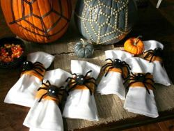 Halloween Spider Napkin Holders