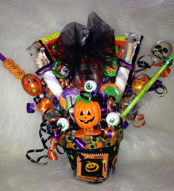 Halloween Flower Arrangements & Gift Delivery. Celebrate the spooky season with a delightful selection of Halloween flower arrangements and gifts for delivery. Whether you're decorating for a party or looking to send a surprise to someone special, a Halloween flower delivery is sure to liven the holiday.