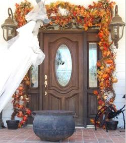 Doorway Halloween Party Ideas