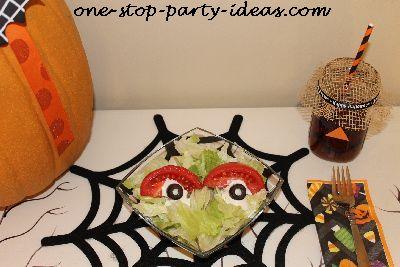 Halloween Party Food Salad Idea