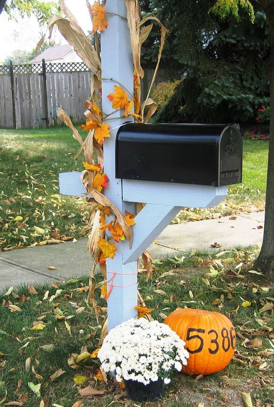 Halloween Party Invitations ~ 222911_Halloween Decorating Ideas For Mailboxes